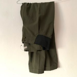 Maternity ASOS olive green pants size 6